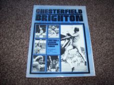 Chesterfield v Brighton & Hove Albion, 1976/77